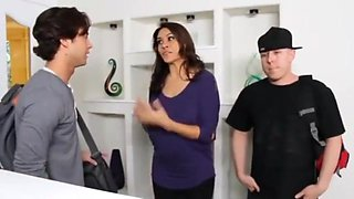 Milf Mom Fuck Son Friend - Pussy packing for gorgeous MILF Raylene