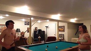 Brother & Sister Strip Poker Pt.2 (POOL)