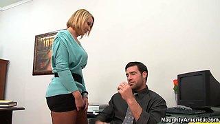 Mellanie Monroe & Charles Dera in Naughty Office