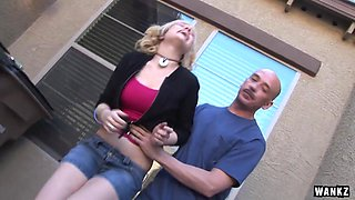 Teen Proxy Gets Caught Smoking then Fucked