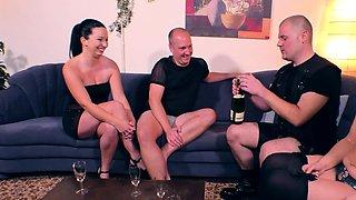 german amateur swinger couple orgy
