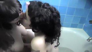 Busty Emo lesbians