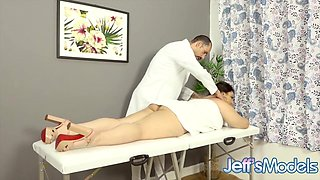 Latina Plumper Agatha Ludovino Gets a Rough Ass Pounding by Her Masseur