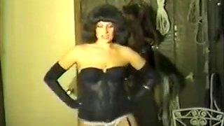 Fabulous amateur Stockings, Fetish sex clip