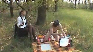 Outdoor Villein Training: Boots, Bondage & Whipping