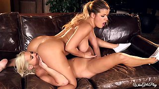 hot lesbo action with top notch gals adriana sephora and spencer scott