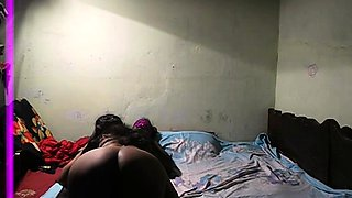 Late Night Sex Of Indian Couple In Bedroom