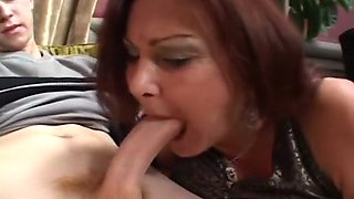 An Older Woman Gets Some Younger Cock