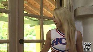 Lena Nicole seducing teenie Kenna James