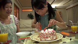 Exotic Japanese girl Mizuki in Horny cunnilingus, college JAV movie