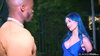 Kinky Babe Has Romantic Date With Her Black Muscled Lover - Jewelz Blu