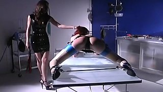 Dominatrix Breaks Down A Pretty Redhead