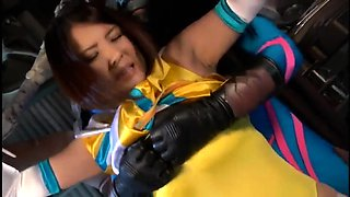 Irresistible Japanese girl with big hooters gets dominated