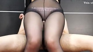 Fabulous Japanese slut Saki Izumi in Exotic Secretary, Stockings/Pansuto JAV video