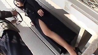 Hottest JAV censored xxx scene with fabulous japanese whores