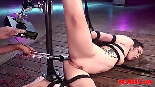 redhead mistress extreme domination for her slave