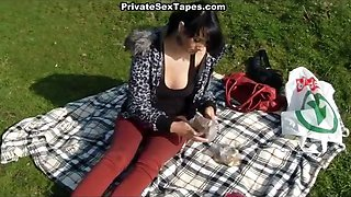 Sexy blowjob and mouthful of sperm