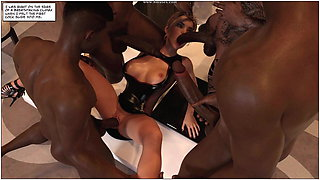 Kristy's first breeding party
