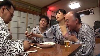 Japanese wife cheating drunk husband 1