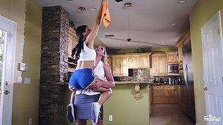 Gina Valentina & Phoenix Marie in Clean Up Your Act - MomKnowsBest