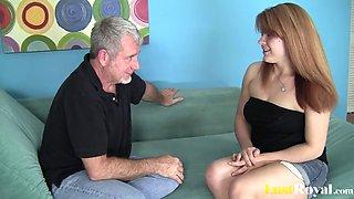 pierced babe Sarah Stoner loves sperm tasting