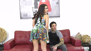 Amazing sexual experience with naughty brunette Valentina Nappi